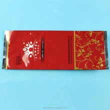 custom printing chocolate packaging bag with side gusset