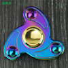 Factory wholesale multi patterns Stainless steel/Ceramic Bearing anti stress fidget toy hand desk hand spinner fidget spinner