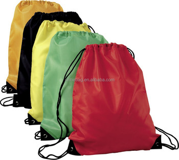 210T polyester drawstring bag