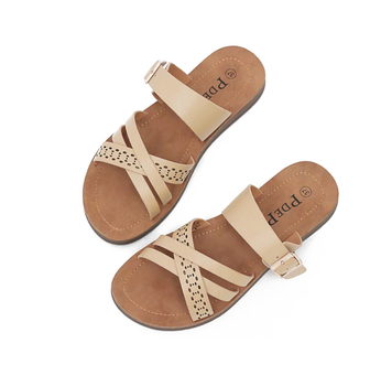 best selling good quality China factory Fashion design custom color comfortable women sandals and slippers