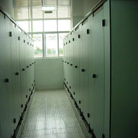 Multifunctional metallic toilet partition/cubicles system with CE certificate