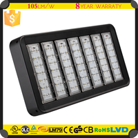 8 years warranty high power led flood light 300watt for high pole light