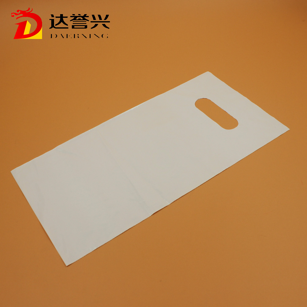 alibaba wholesale clear color plastic die cut packing bags