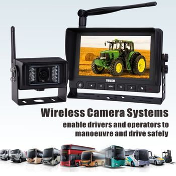 Wireless Camera System for Vo agricultural Vehicle safrty vision