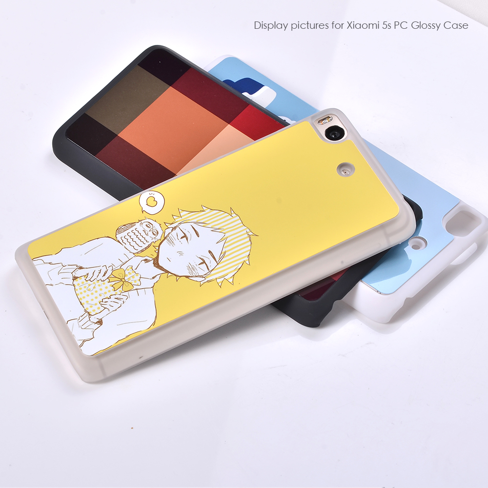 Custom Design Hard Plastic Shell phone accessories cell phone cases and cover for Xiaomi 5s