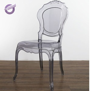 ZY00560 New Designs Cafe Styling Wedding Dinner Table Decorative Acrylic  Chair For Event