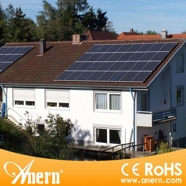 On grid 2KW solar panel kits complete for home appliances