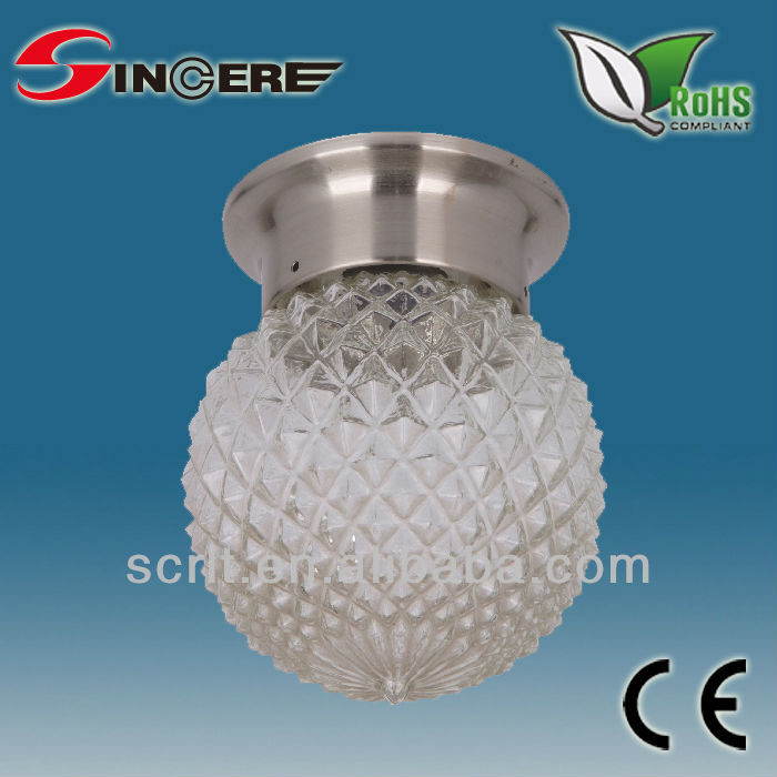 6 inch crystal ball hanging decorative light