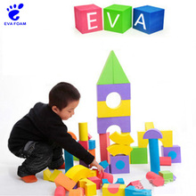 Hot promotion educational eva foam building block toys for kids