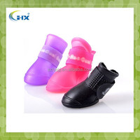 Eco-friendly outdoor waterproof silicone pet shoes
