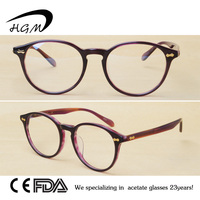 Round Eye Reading Glasses For Classical Optical Glasses Frame