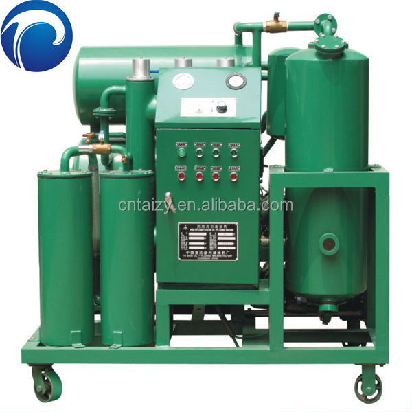 automatic vacuum waste transformer oil purifier