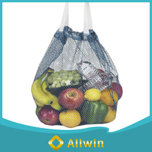 Wholesale multi-function nylon drawstring fruit mesh net bag