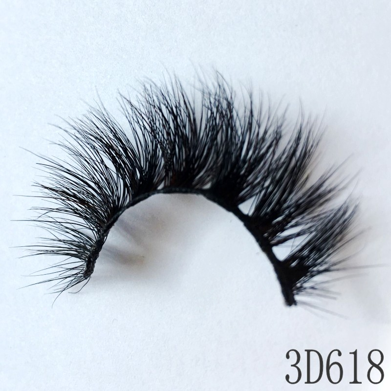 Awesome Quality The Best Lashes 3D Real Mink Eyelashes False Eyelashes Can Be Used Multiple Times