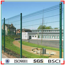 Alibaba China's Rubber Powder Coated Green Garden Wire Mesh Fence