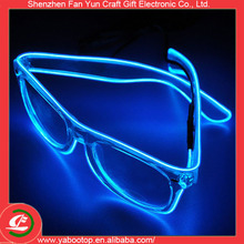 Fashion LED sound activated glasses rechargeable glow glasses