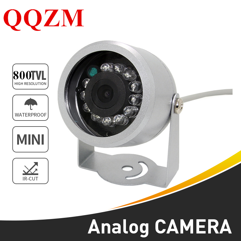 "1/3"" CMOS 800TVL Waterproof 12LED IR Night Vision Security Video Camera Outdoor CCTV Camera Mini Analog Camera"