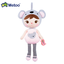 Hot sale Metoo brand soft stuffed dolls gift toys for kids