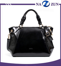 2016 Lady fashion designer all match pure color handbag high quality women's custom pu leather handbag