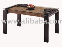 Water Hyacinth Dinning Table