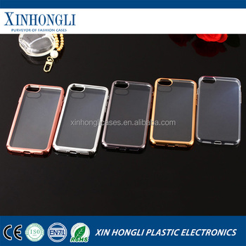 Newest electroplate case for iphone 7 plus tpu case for iphone 7