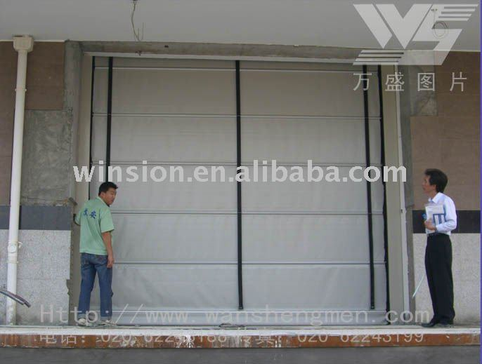 stacking gate high performance industrial folding gate