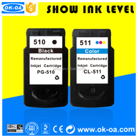 compatible ink cartridge for canon pg 510 cl 511 for pixma mp240/mp250mp270/mp272mp280