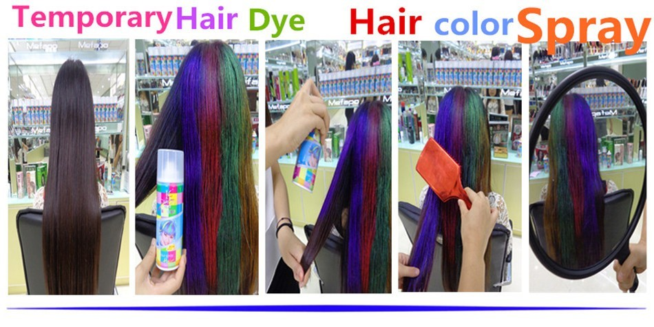 Mefapo Temporary Washable Hair Color Spray Wholesale Bigen Hair