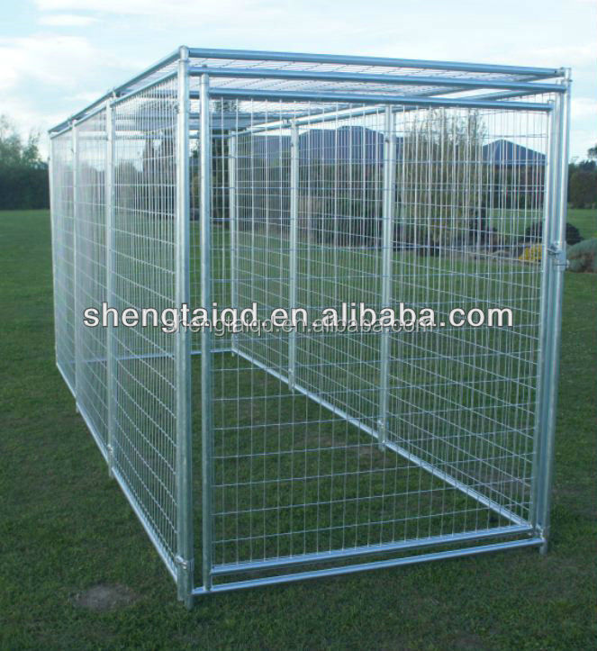 Portable welded wire mesh metal fences for dog