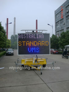 Australian Standards 5 color VMS for traffic control & advertising