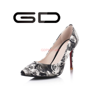 2015 Women high hill wedding party shoes