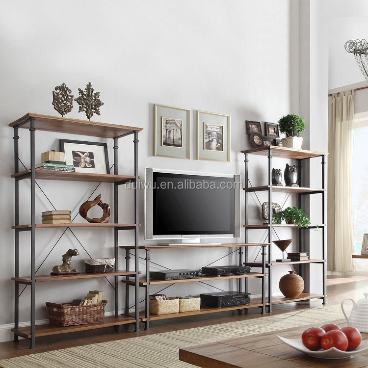 Customized furniture accept cheap wood led tv stand rack