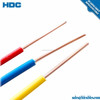 CCC conductor PVC sheathed electric cable 1.5mm 2.5mm single core wire