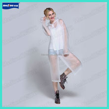 PVC adult long raincoat