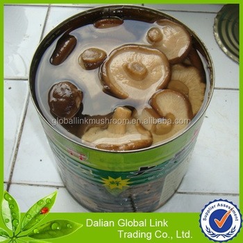 canned shiitake mushroom EOE | normal lid