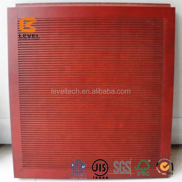 V Shape Groove Type MDF Wooden Timber Painted Acoustic Panels