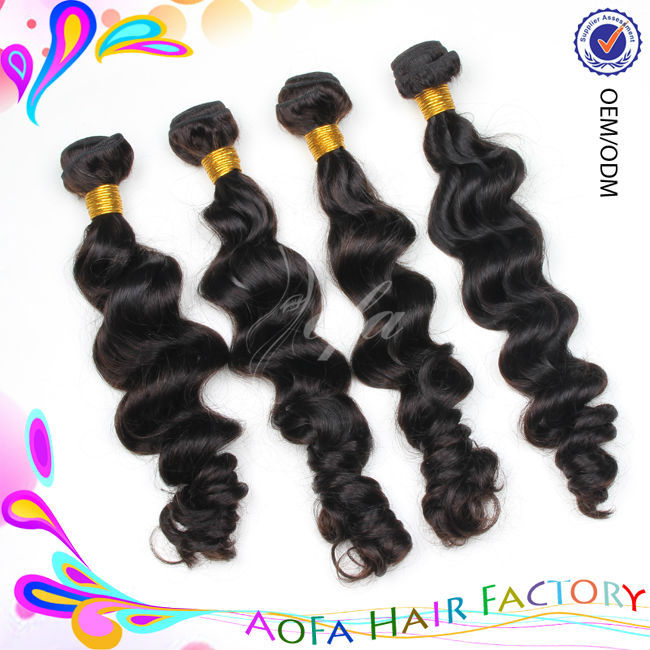 High quality wholesale 100% natural body wave indian sexi women hair
