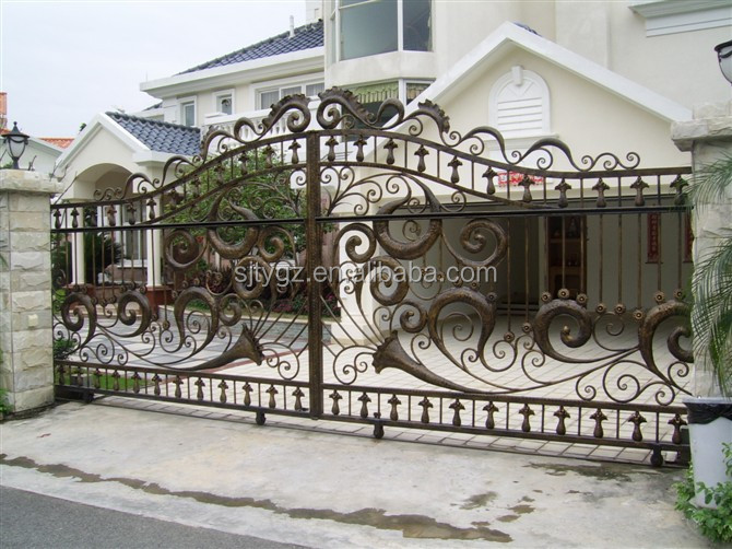 Economical and practical paints for iron gate