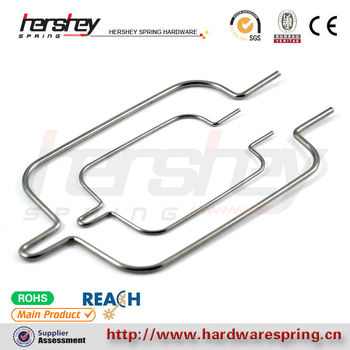 TS16949 flexible wire forming car seat springs supplier in China