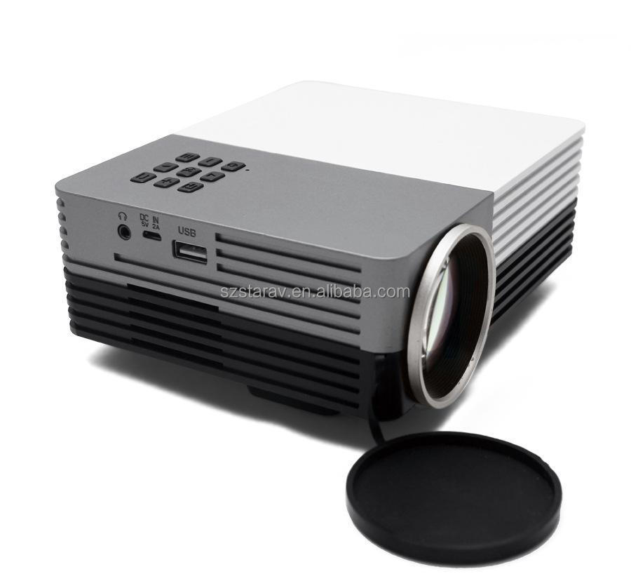 GM 50 led projector, pocket projector for New year Christmas day Easter day Halloween