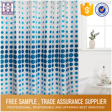 TOP ONE Lastest design polyester 3d shower curtain