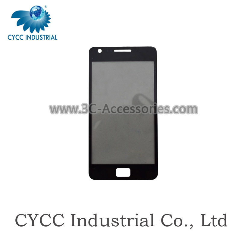 Wholesale Mobile Phone i9100 Front Glass Lens Replacement for Samsung S2