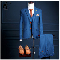 2017 latest man suit style with nice cut shape