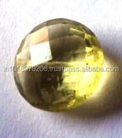 Natural Citrine Round Facet Xclusive Beads
