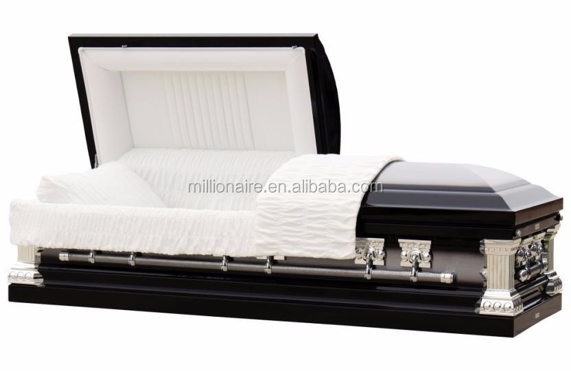 Millioanire luxury china metal caskets supplier