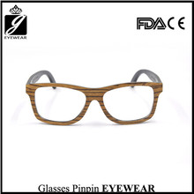 Promotion natural wooden/bamboo eyeglass with polarized lens sun glasses