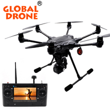 GLOBAL DRONE Yuneec Typhoon H 480 PRO Touchscreen RC Hexacopter 4K RTF RC Quadcopter drone With Real sense vs DJI Phantom 4 pro