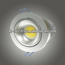 110v 220v 10w COB LED Down light / 110v ceiling led puck light