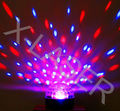 New LED magic disco ball light/six color DMX crystal ball with remote control