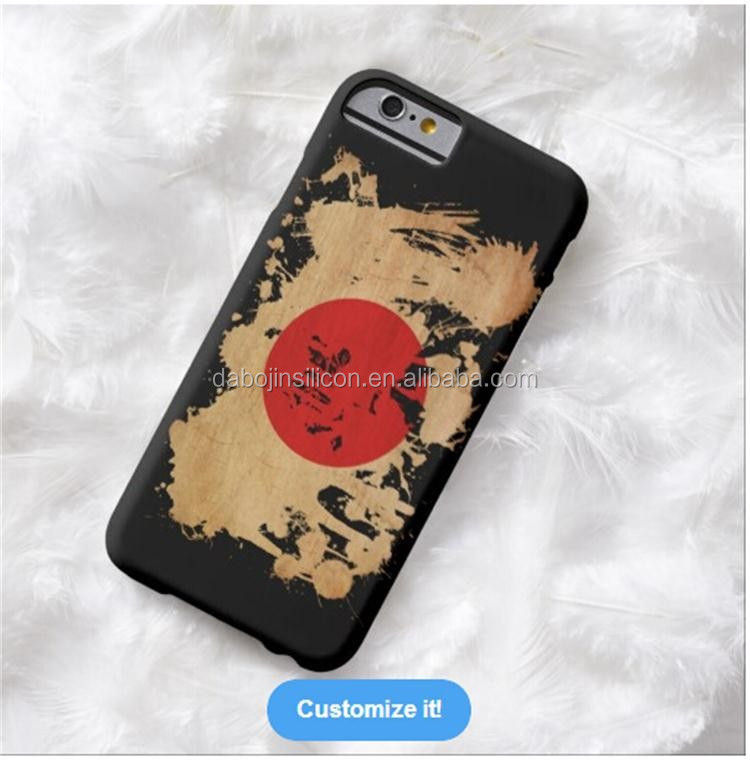DIY personalised customized printing Japan flag case for <strong>mobile</strong> phone